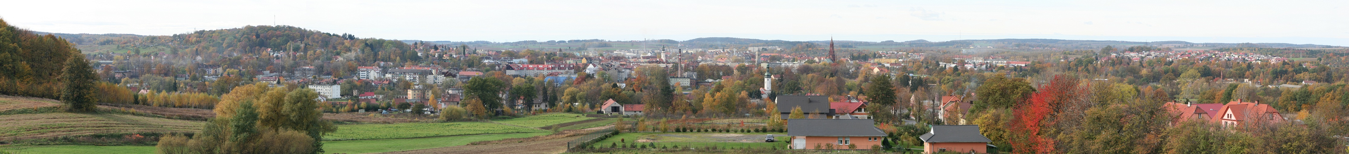 Autumn panorama of Luban